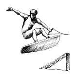 Wakeboarder 3 Fotografering för Bildbyråer