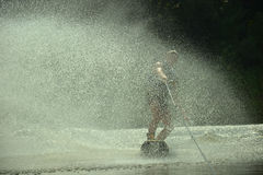 Wakeboarder image libre de droits
