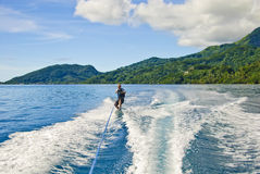 Wakeboarder Photographie stock