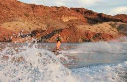 Wakeboarder Lizenzfreie Stockfotos