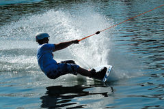 Wakeboarder in action-5 Stock Photos