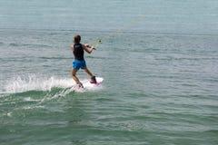 Wakeboarder da moça foto de stock royalty free