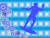 Wakeboarder na ação Imagens de Stock Royalty Free