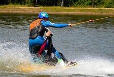 Wakeboarding Stock Foto's