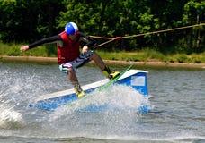 Wakeboarding Stock Foto
