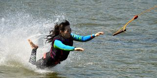 Wakeboarding Stockbild