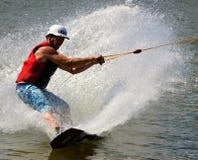 Wakeboarding 图库摄影