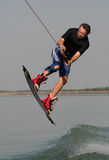 Wakeboarding Lizenzfreies Stockfoto