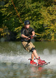 Wakeboarding Royalty Free Stock Photography