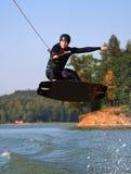 Wakeboarding Stockfotos