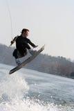 Wakeboarding Foto de archivo libre de regalías