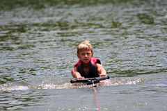 Wakeboarding Boy Royalty Free Stock Image
