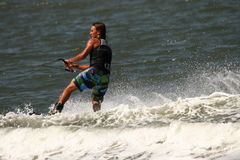 Wakeboarding demonstration Stock Images