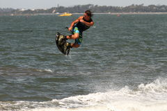 Wakeboarding demonstration Royalty Free Stock Photography