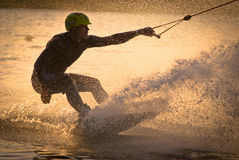Wakeboarding stock photography