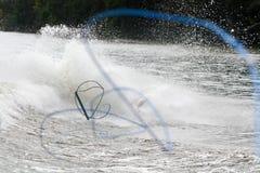 Wakeboarding zgładza Zdjęcie Royalty Free