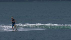 Wakeboardmens stock footage