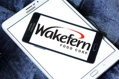 Wakefern Food Corporation logo. Logo of Wakefern Food Corporation on samsung mobile. Wakefern Food Corporation s the largest retailers cooperative group of royalty free stock photo