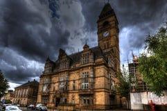 Wakefield urząd miasta Zdjęcia Royalty Free