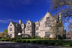 Wakehurst Mansion of Salve Regina University. Salve Regina University is a university in Newport, Rhode Island. Wakehurst Mansion, now as Wakehurst Student Royalty Free Stock Photo