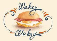 Wakey di Wakey Fotografie Stock