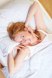 Waking up Stock Photography
