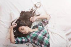 Waking up Stock Image