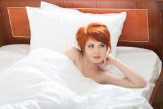 Waking up Royalty Free Stock Photo