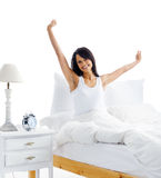 Waking Up Woman Royalty Free Stock Images
