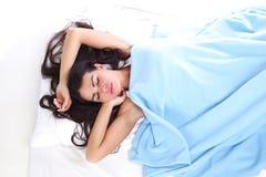 Waking woman Stock Image