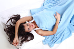 Waking woman Stock Photography