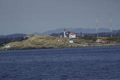 Wal, der in Britisch-Columbia aufpasst stockbild