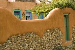 Wal des Hauses in New-Mexiko Lizenzfreie Stockbilder