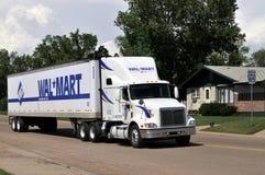Wal-markt vrachtwagen Royalty-vrije Stock Afbeelding