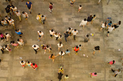 Wal-Mart in China's opening scene Royalty Free Stock Images