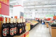 WAL-MART supermarket Stock Photography
