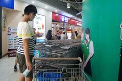WAL-MART supermarket Royalty Free Stock Photos