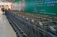 WAL-MART supermarket Stock Image