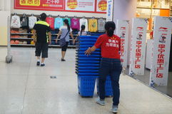 WAL-MART supermarket Stock Photos