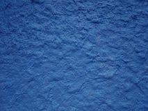 Wal strutturato della pittura blu Immagine Stock