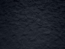Wal strutturato della pittura nera Fotografia Stock