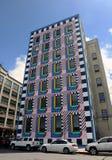 Walala流行音乐城市壁画 库存图片