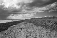 walberswick суффолька Англии пляжа Стоковые Изображения