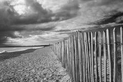walberswick суффолька пляжа Стоковые Изображения