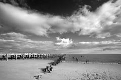 Walberswick Beach, Suffolk, England Royalty Free Stock Image