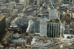 The Walbrook Building, Aerial View Royalty Free Stock Images