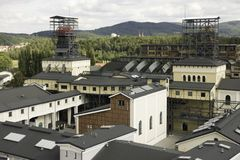 Walbrzych煤矿博物馆 免版税库存图片