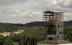Walbrzych煤矿博物馆 免版税库存照片