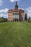WALBRZYCH,波兰- 2016年7月07日:城堡Ksiaz在Walbrzych,  免版税库存照片