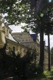 Walbrzych gammal stad Arkivbilder